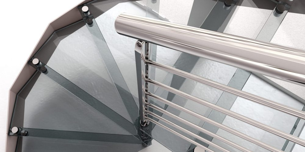 Staircase, steel staircase, glass staircase, stainless steel railings, stainless steel Accessories, free standing staircase, modern staircase.