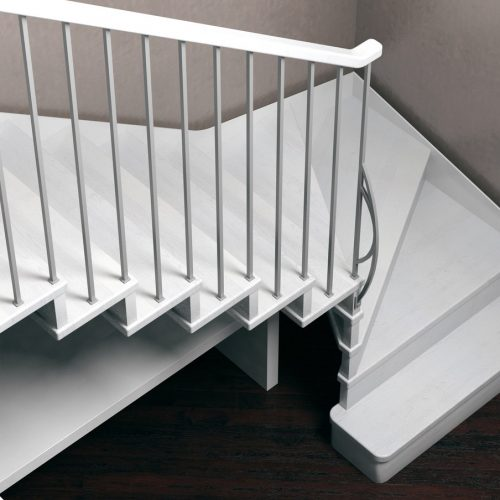 Jamar Staircases, Jamar Glide 1R-GLE, steel railing, solid timber steps, contemporary staircase, staircase for your home.