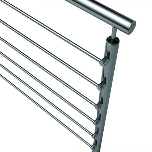 Stainless steel Railing, Steel Railing, or Glass Railing