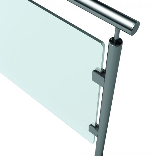 Stainless steel and Glass Railing, Stainless steel Railing Malta, Glass Railing.