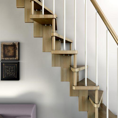 Compact staircase Jamar Fleeting