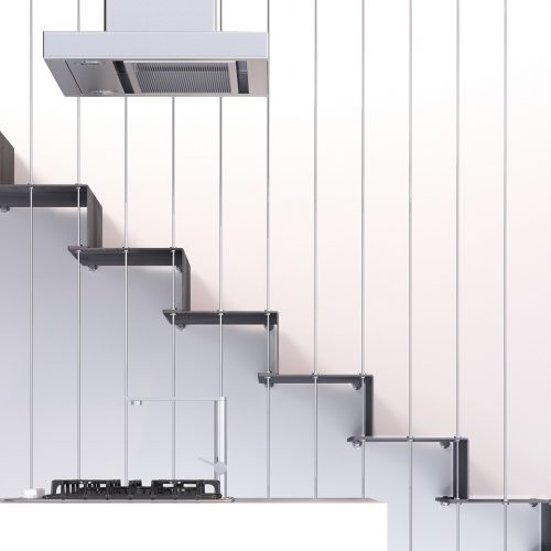 Jamar Stream GLA R10 Steel Staircase