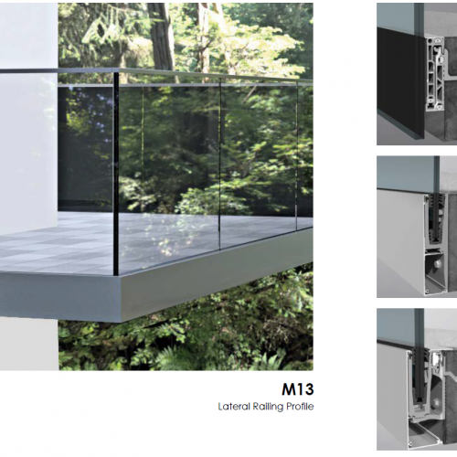 Jamar M13 Glass Balcony